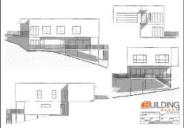 sloping house plans surprising house plans for sloping lots gallery best idea home