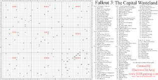 Fallout New Vegas Map With All Locations by Fallout 3 Cheats Codes Cheat Codes Walkthrough Guide Faq