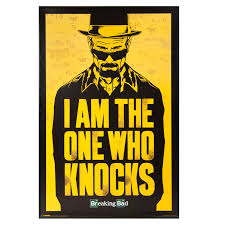 Breaking Bad Poster Breaking Bad Black U0026 Yellow Framed Picture W 630mm H 930mm