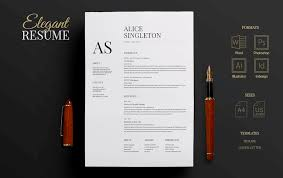 resume template on microsoft word 50 eye catching cv templates for ms word free to