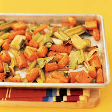 carrots thanksgiving roasted carrots and leeks