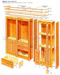 Furniture Plans Bookcase by Classic Bookcase Plans U2022 Woodarchivist