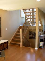 custom made open staircase by dancing grains woodworks