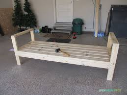 Build Cheap Patio Furniture by Diy Outdoor Couch Life On Virginia Street