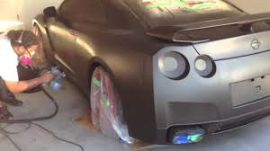 nissan gtr matte black and red plasti dip nissan gtr matte black wmatte red rims youtube