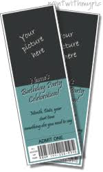movie ticket invitation templates free online movie invitation