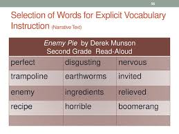 56 narrative selection the new vocabulary instruction ppt download