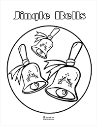 jingle bells song lyrics u0026 coloring pages sing laugh learn