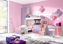 wand gestaltung mdchen kinderzimmer kinderzimmer streichen ideen mit rosa farben und dekoriert