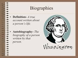 biography definition biography description my crystal sweet retrospections