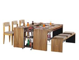modular dining table and chairs baldeo furnitures raipur india