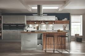 burford grained light grey kitchen from the shaker collection by