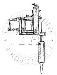 tattoo gun sketch tattoo machine drawing at getdrawings com free for personal use