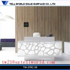 Spa Reception Desk China Modern Spa Counter Table Front Desk White Spa Reception Desk