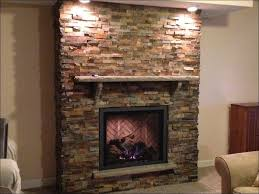 interiors awesome rustic stone fireplace stack stone fireplace