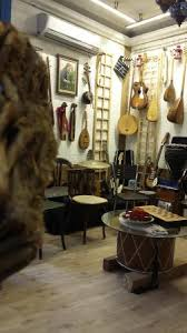 amazing internal decoration with unique instruments and
