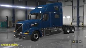volvo trak vnl truck shop v1 4 only 1 27 templates