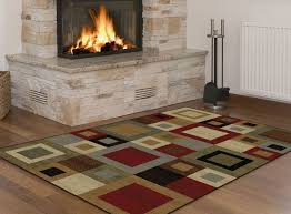 Rug Color Multi Color Squares Contemporary Cubes Geometric Abstract Blocks