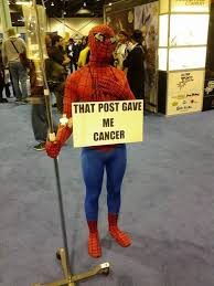 Spiderman Meme Cancer - spider man meme cosplay dhtg