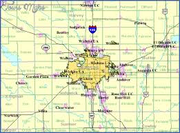 zip code map wichita ks wichita kansas map toursmaps com