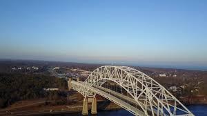 sagamore bridge flyby cape cod dji mavic pro 4k drone youtube