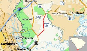 sc highway map south carolina highway 315
