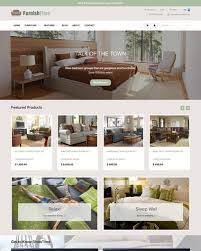 theme furniture furniture interior design ecommerce website templates free and