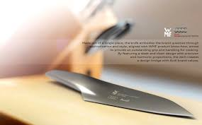 designer kitchen knives cuts like a knife yanko design