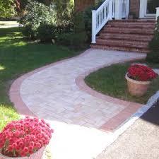 Backyard Walkway Designs - outdoor u0026 garden cool nicolock pavers for your outdoor flooring