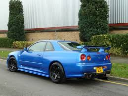 nissan skyline r34 modified harlow jap autos uk stock nissan skyline r33 gtr tuned by hks