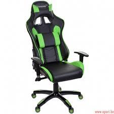 siege de bureau gamer chaise de bureau gamer racer vert apori be