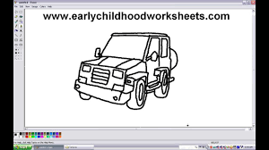 kid car drawing how to draw jeep car easy step by step for kindergarten kids youtube