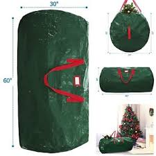 tree storage green bag upright artificial up to 7