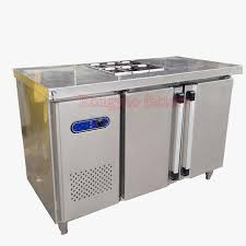 tx0 4l2t 1 8 m salad workbench freezers stainless steel kitchen