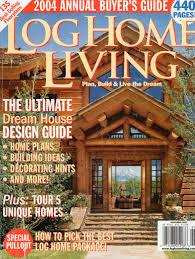 log home magazine designs home design