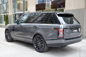range rover rims 2016 land rover range rover supercharged stock b867a for sale