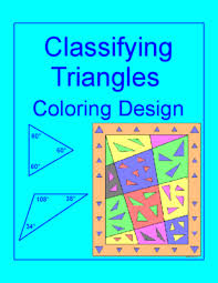 triangles classifying triangles coloring activity