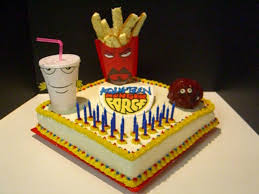 aqua teen hunger force cake for my boyfriend cakecentral com