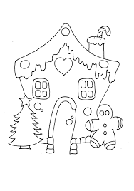 gingerbread house clipart black and white free clip art images