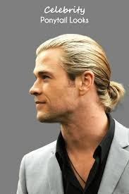 guy ponytail hairstyles celebrity ponytail hairstyles men should try in 2018 men s