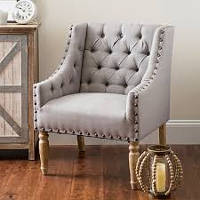 Grey And White Accent Chair Accent Chairs Arm Chairs Kirklands