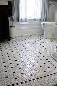 style spotlight octagon mosaic floor tile a look