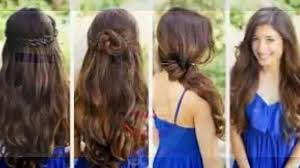 quick hairstyles for straight hair hairstyle picture magz