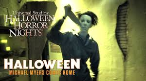halloween horror nights review halloween michael myers comes home haunted house walk through