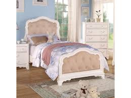 Girls White Twin Bed Acme Furniture Ira Youth Twin Bed W Button Tufted Headboard And