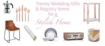 Gift Registry Ideas Wedding 8 Trendy Decor Wedding Gifts U0026 Registry Items For A Stylish Home
