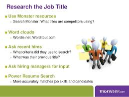 Resume Search Online by Monster Webinar Maximize Your Job Posting Resume