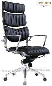 Leather Executive Desk Chair Modern Leather Office Chairs Amazoncom Ribbed Mid Back Office