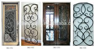 decorative metal cabinet door inserts decorative metal doors decorative metal doors faux wrought iron door