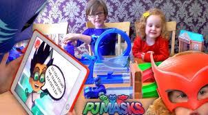 pj masks rival racers playset u2013 romeo robber fail family